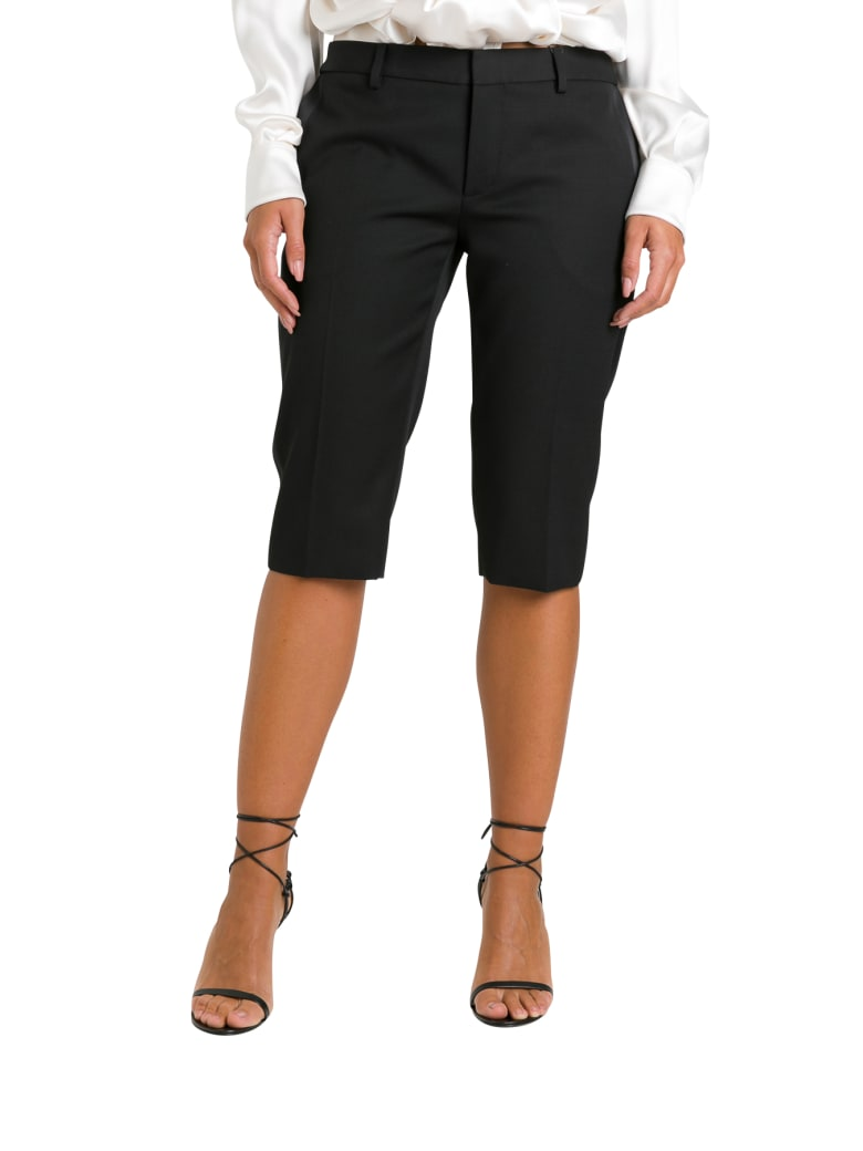Saint Laurent Tuxed Bermuda Shorts - Noir