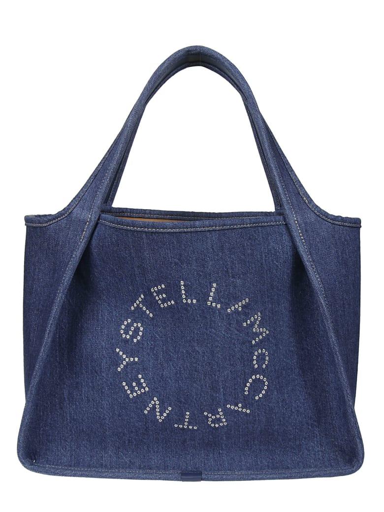 Stella McCartney Denim Eco Tote - Blu