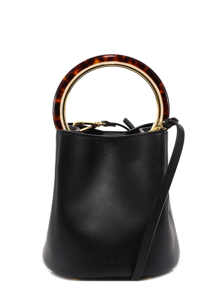 Marni Bucket Bag - Black