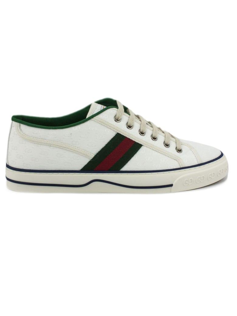 Gucci Gucci Tennis 1977 Sneaker - Bianco