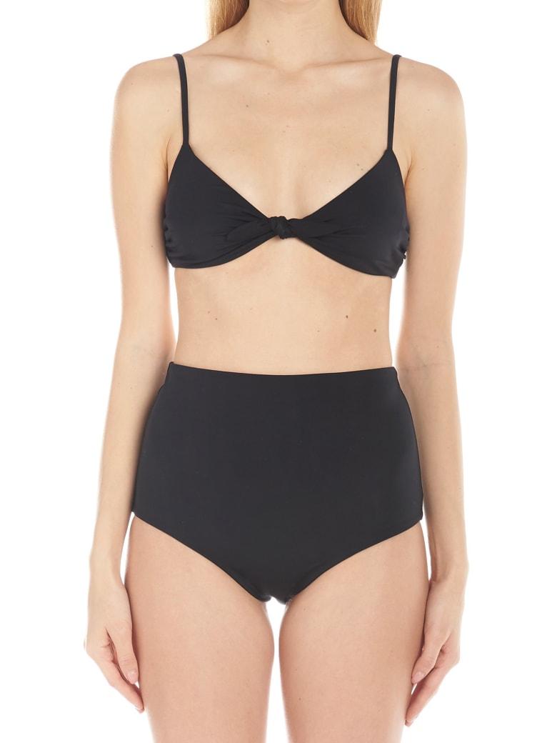 Mara Hoffman 'carla' Bikini Bra - Black