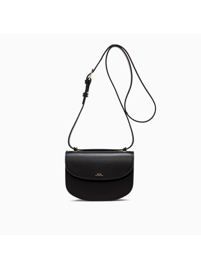 A.P.C. sac Geneve Mini Bag Pxawv-f61415 - LZZ NOIR