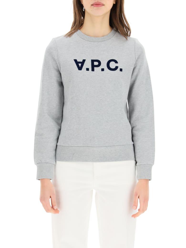 A.P.C. Sweatshirt Logo - GREY