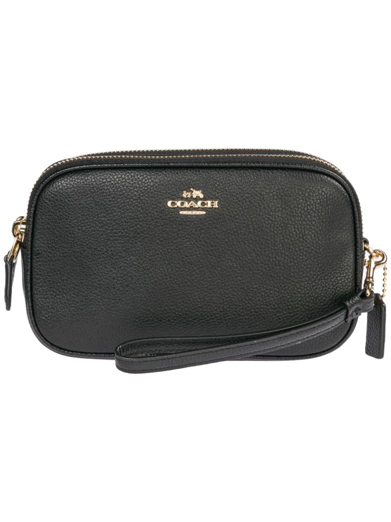 Coach  Leather Cross-body Messenger Shoulder Bag Sadie - Nero