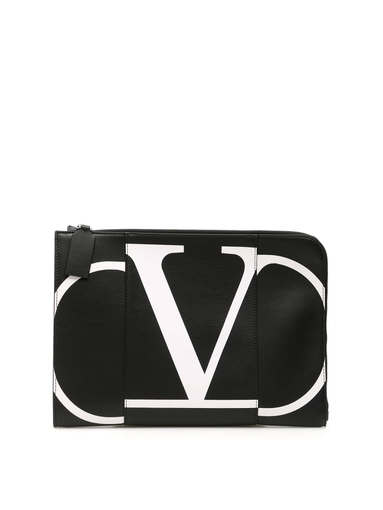 Valentino Garavani Vlogo Document Holder - NERO (Black)