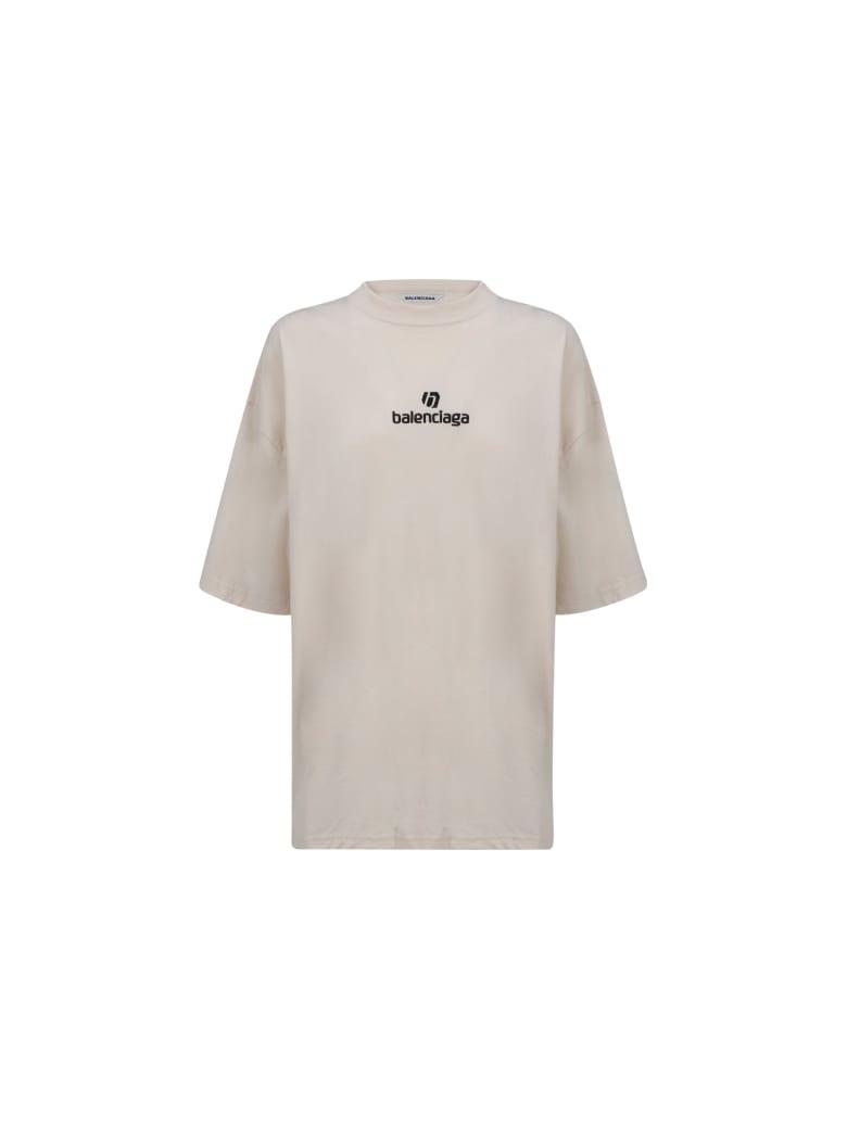 Balenciaga T-shirt - Chalky white/black