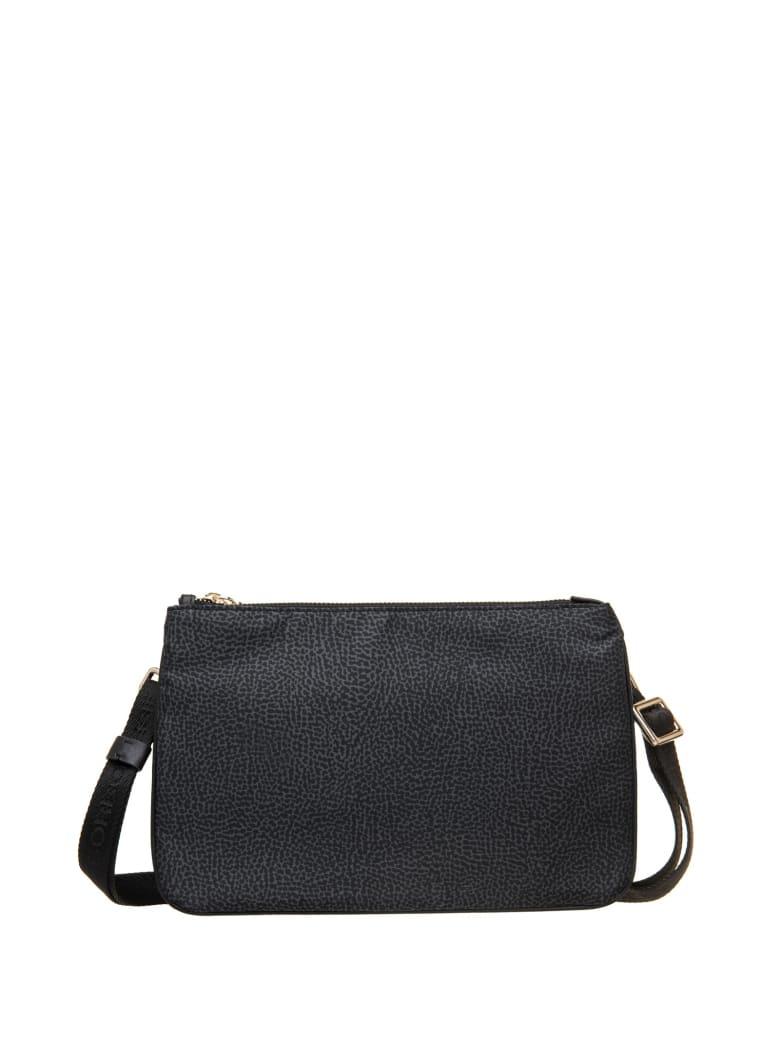 Borbonese Borbonese Black Crossbody Bag - NERO