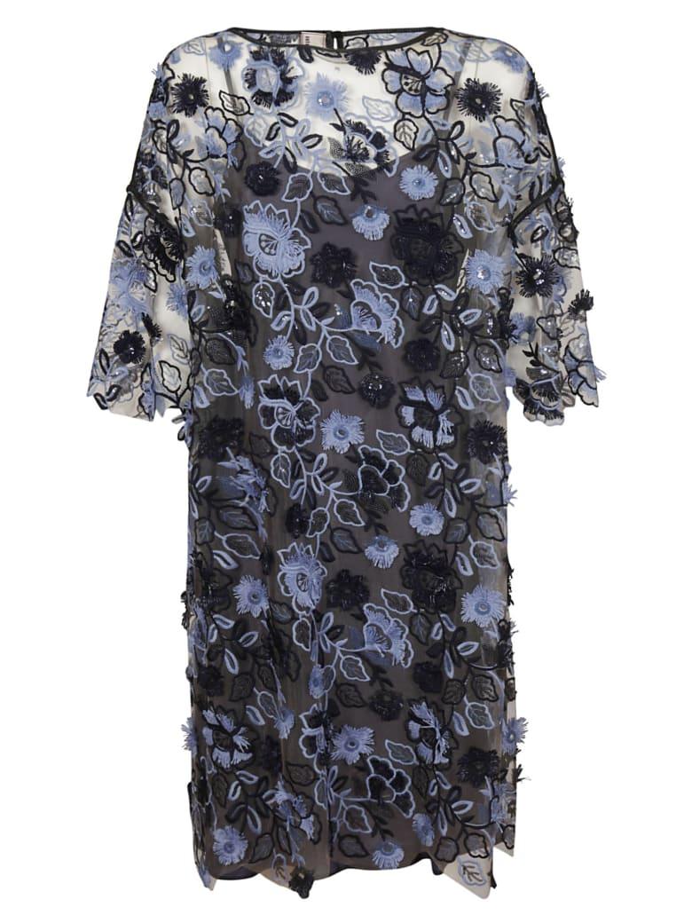 Antonio Marras Embroidered Floral Dress - Multicolor
