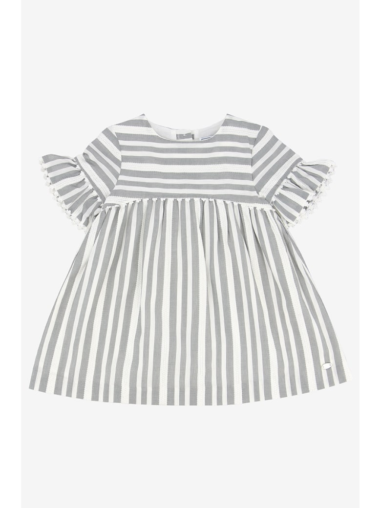 Tartine et Chocolat Striped Dress - Grigio