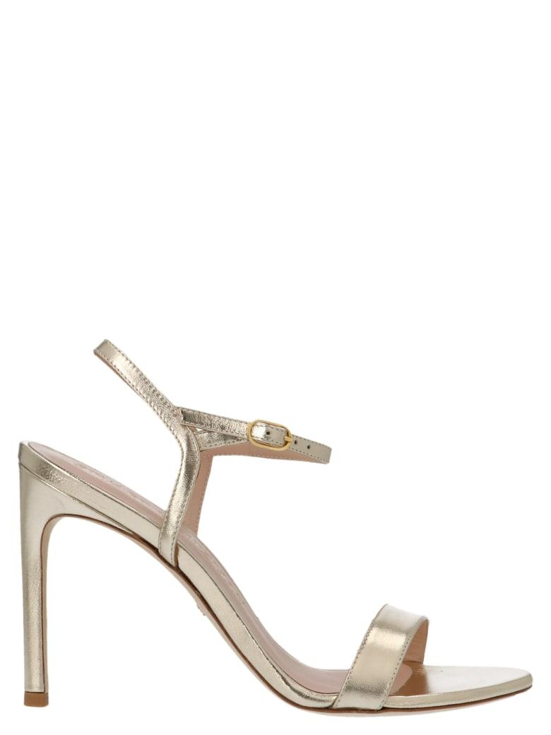 Stuart Weitzman 'nunakedsong' Shoes - Gold