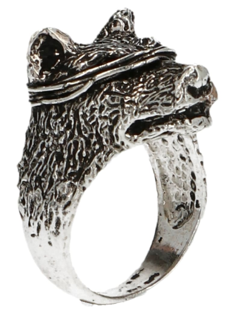 GIACOMOBURRONI 'indomitus' Ring - Silver