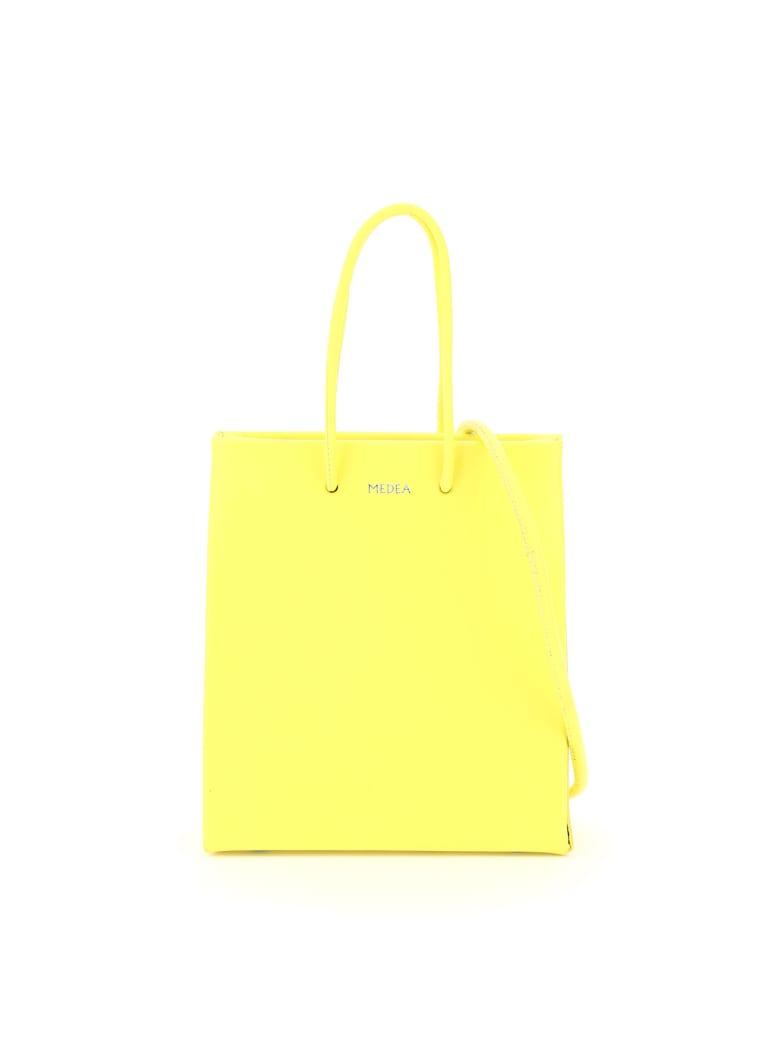 Medea Prima Short Crossbody Bag - SAFETY YELLOW (Yellow)