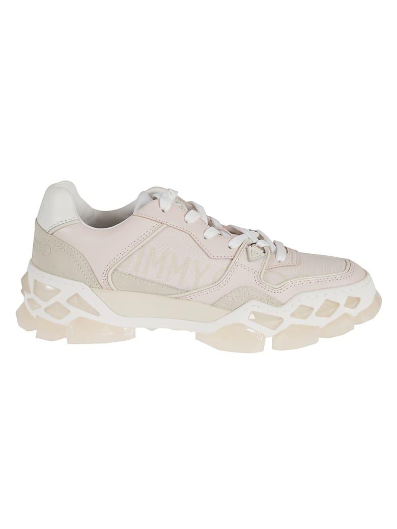 Jimmy Choo Diamond X Sneakers - Light Beige
