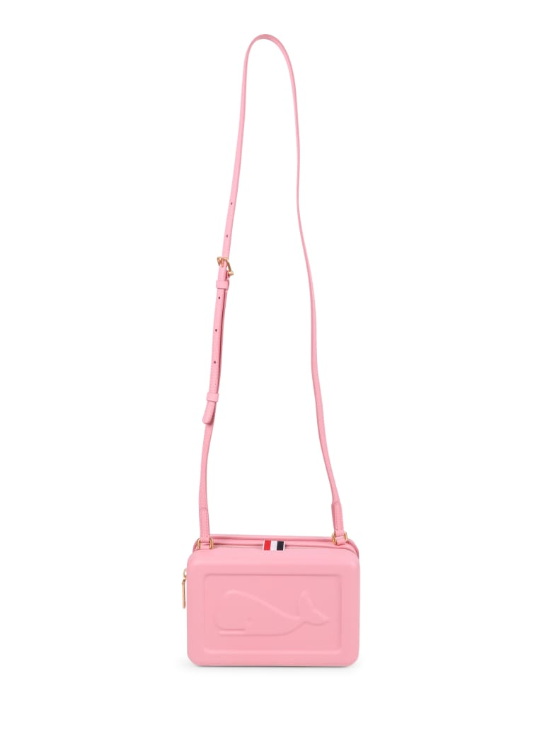 Thom Browne Pink Whale Crossbody Bag - Pink