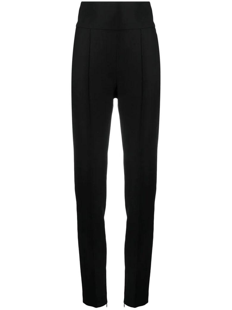 Alexandre Vauthier Black Wool Trousers - Nero