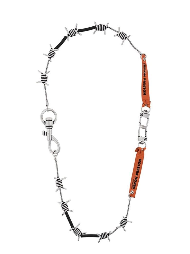 HERON PRESTON Necklace - Argento
