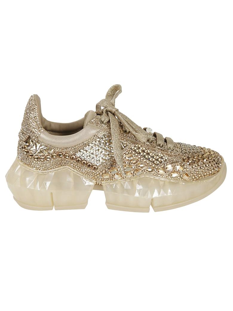 Jimmy Choo Diamond Sneakers - Beige