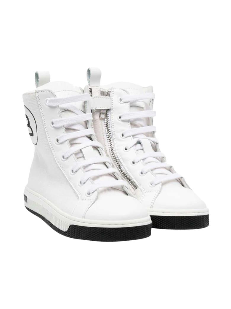 Balmain White Sneakers . - Bianco