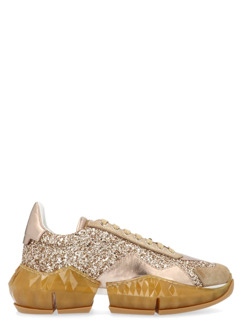 Jimmy Choo 'diamond' Shoes - Gold