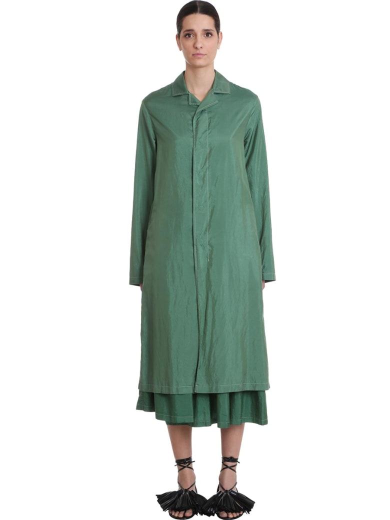 Jil Sander Oack A Mac 01 Casual Jacket In Green Polyester - green