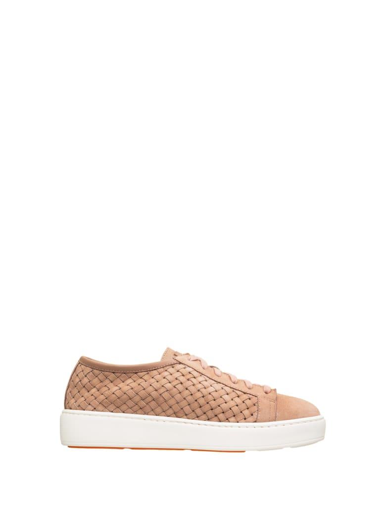 Santoni Santoni Woven Powder Sneaker - CIPRIA