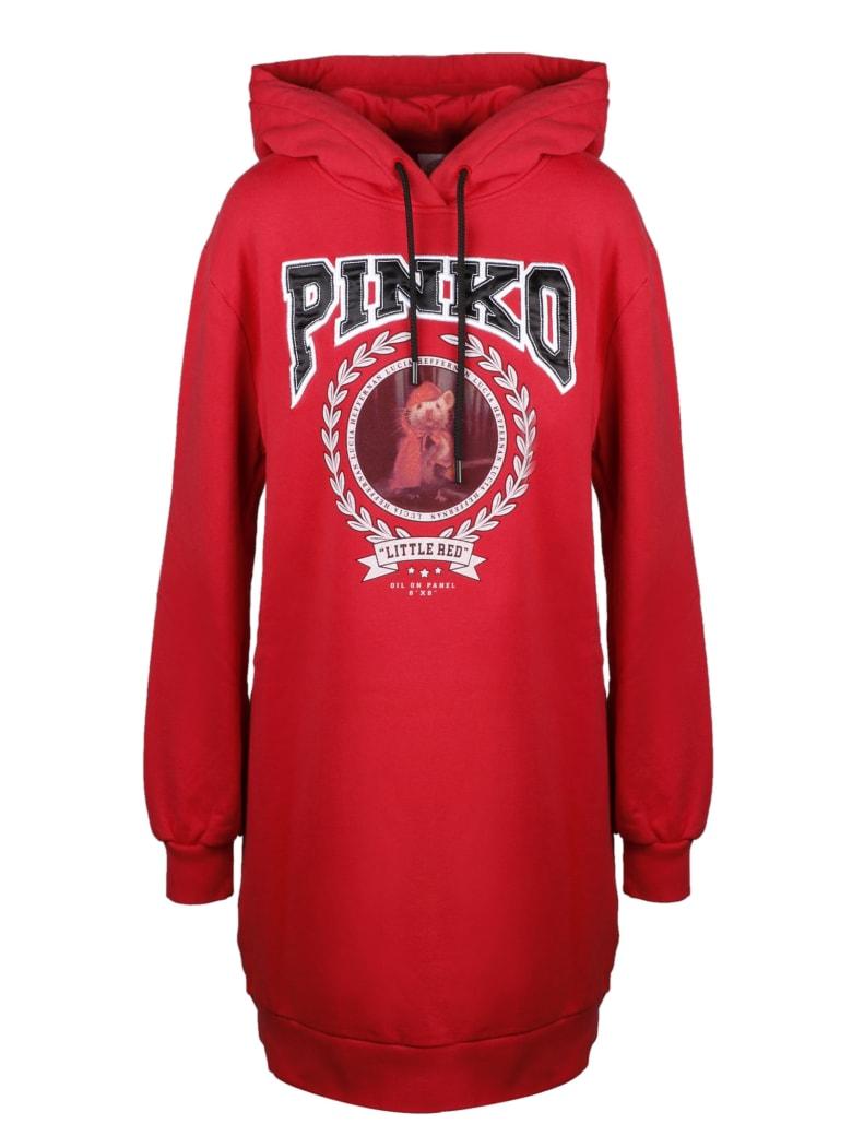 Pinko Short Sleeve T-Shirt - Red