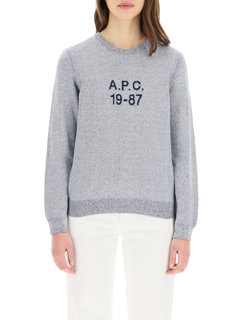 A.P.C. Janice Sweater 19-87 - BLUE