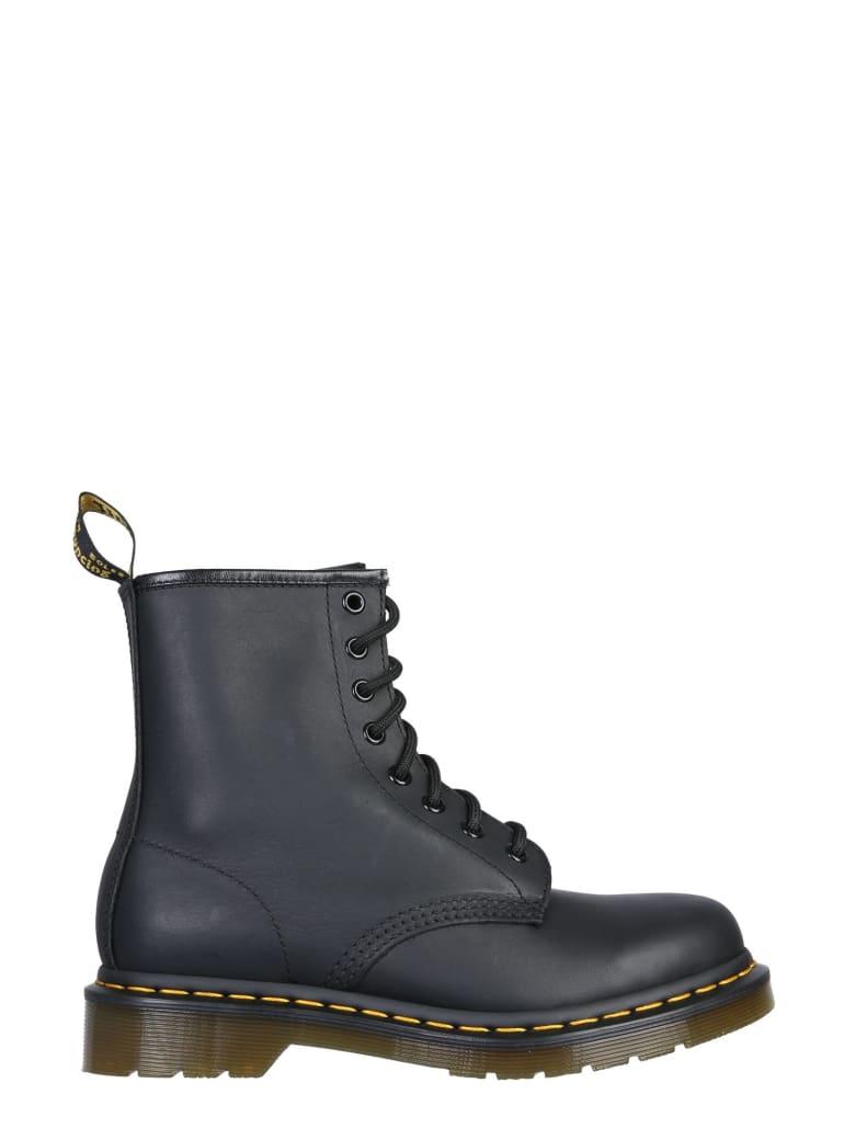 Dr. Martens Greasy Classic Boots - NERO