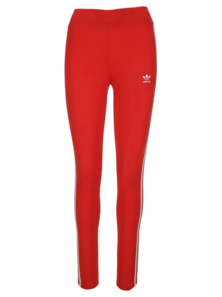 Adidas Originals High Waist Leggings - RED
