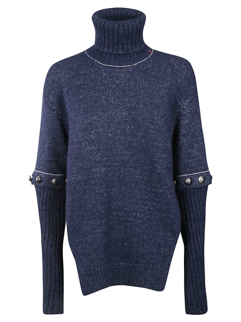 Chloé Turtleneck Sweater - Navy