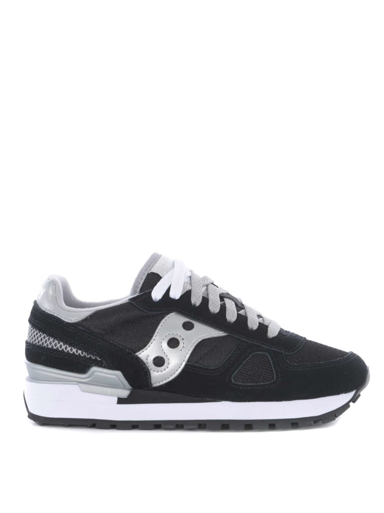 Saucony Sneakers Shadow O' NeroArgento