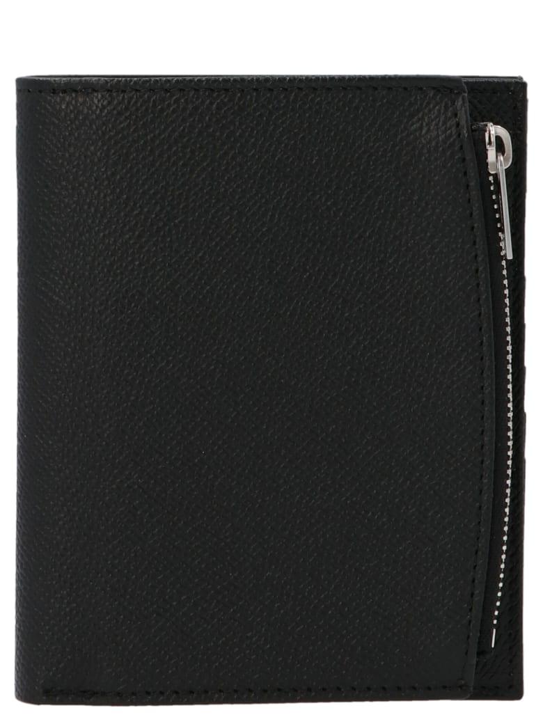 Maison Margiela 'flip Flap' Wallet - Black