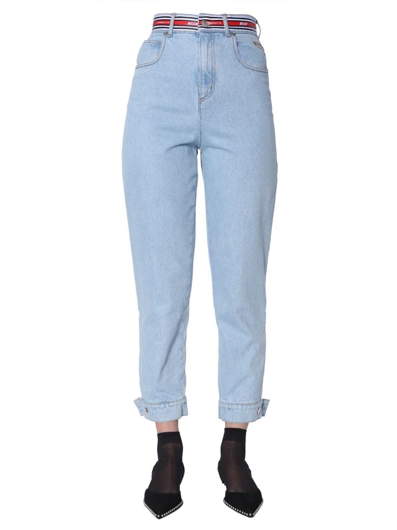 MSGM High Waist Jeans - DENIM