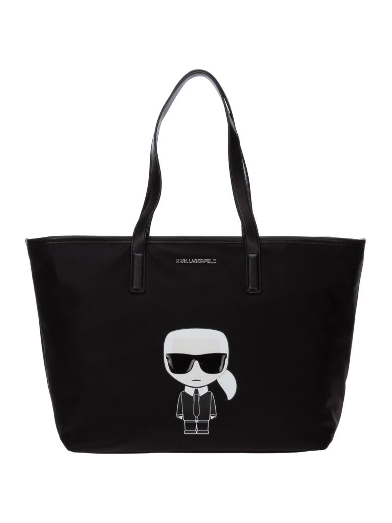 Karl Lagerfeld K/ikonik Handbags - Nero