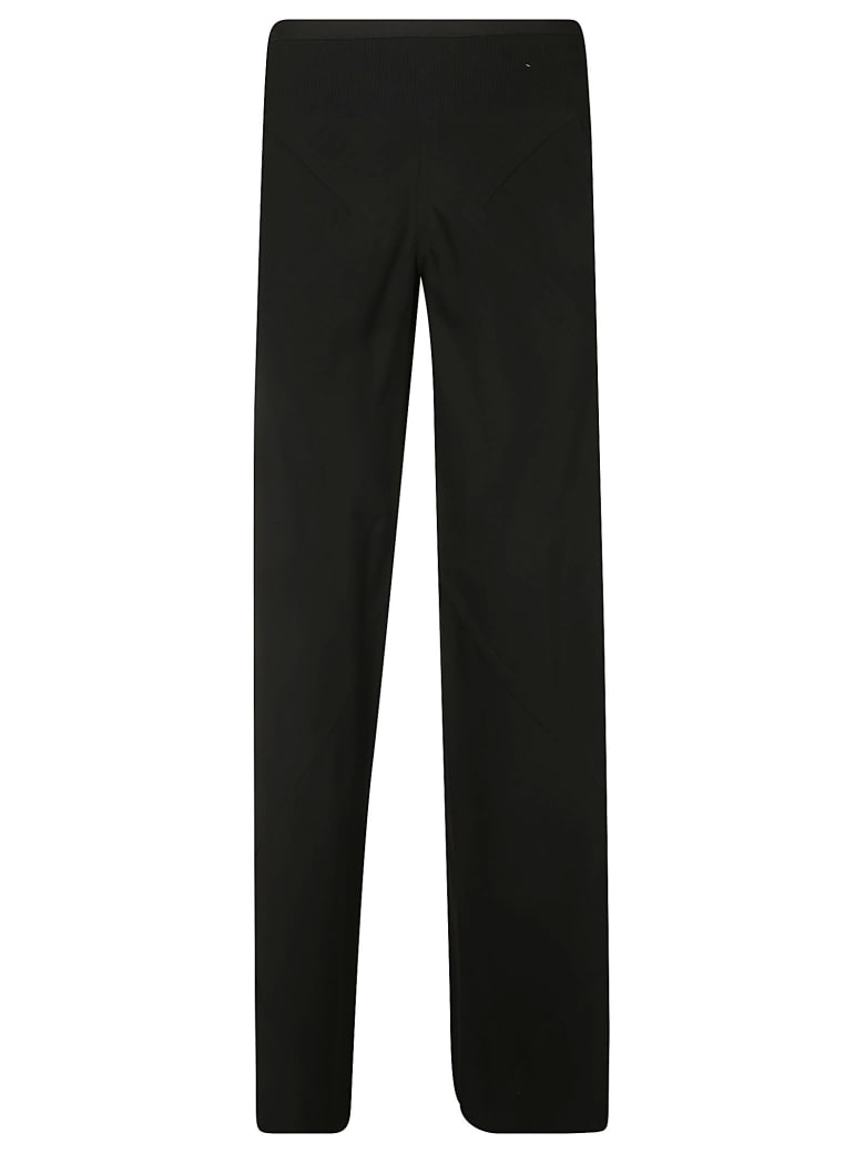 Rick Owens Straight Long Trousers - Black