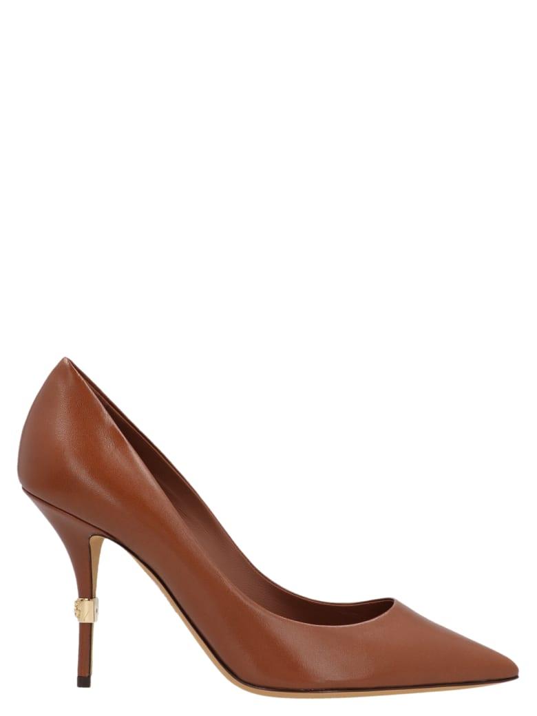 Dolce & Gabbana 'capretto Lissato' Shoes - Cuoio