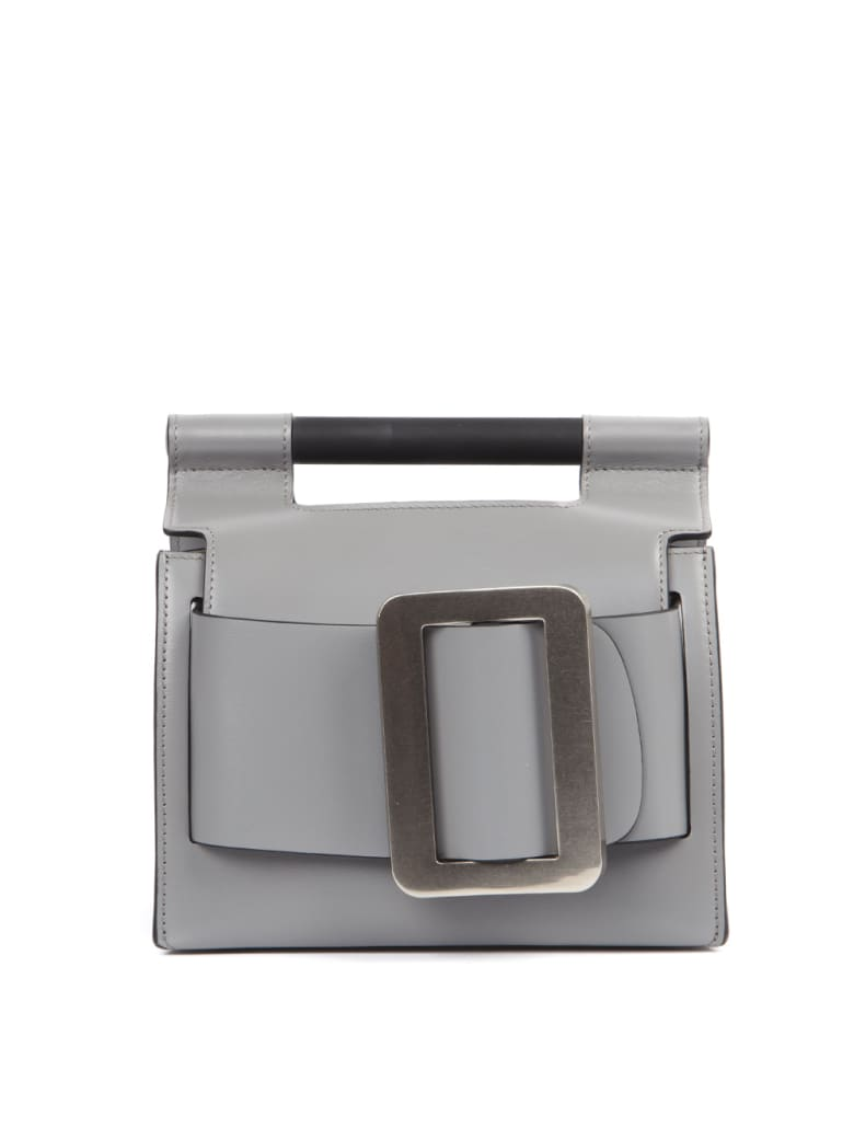 BOYY Grey Leather Romeo Bag - Grey