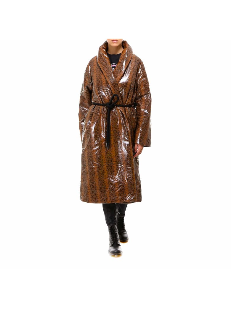 IENKI IENKI Robe Coat Jacket - Brown