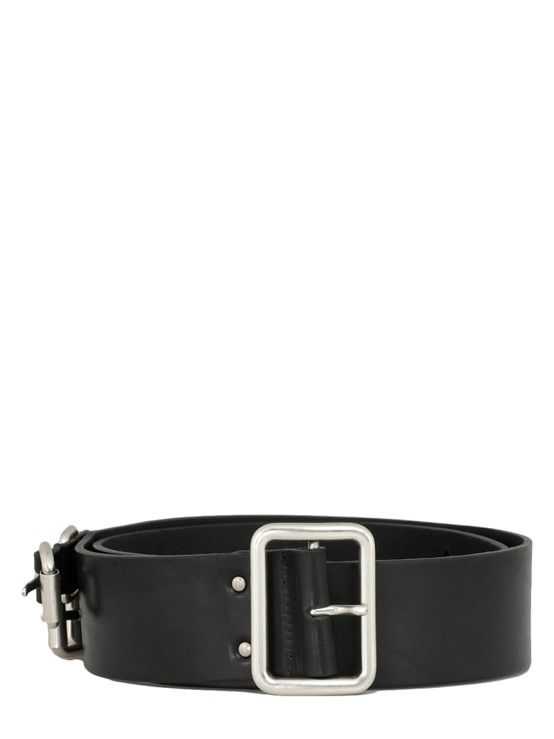 Andrea Ya'aqov Leather Belt - BLACK