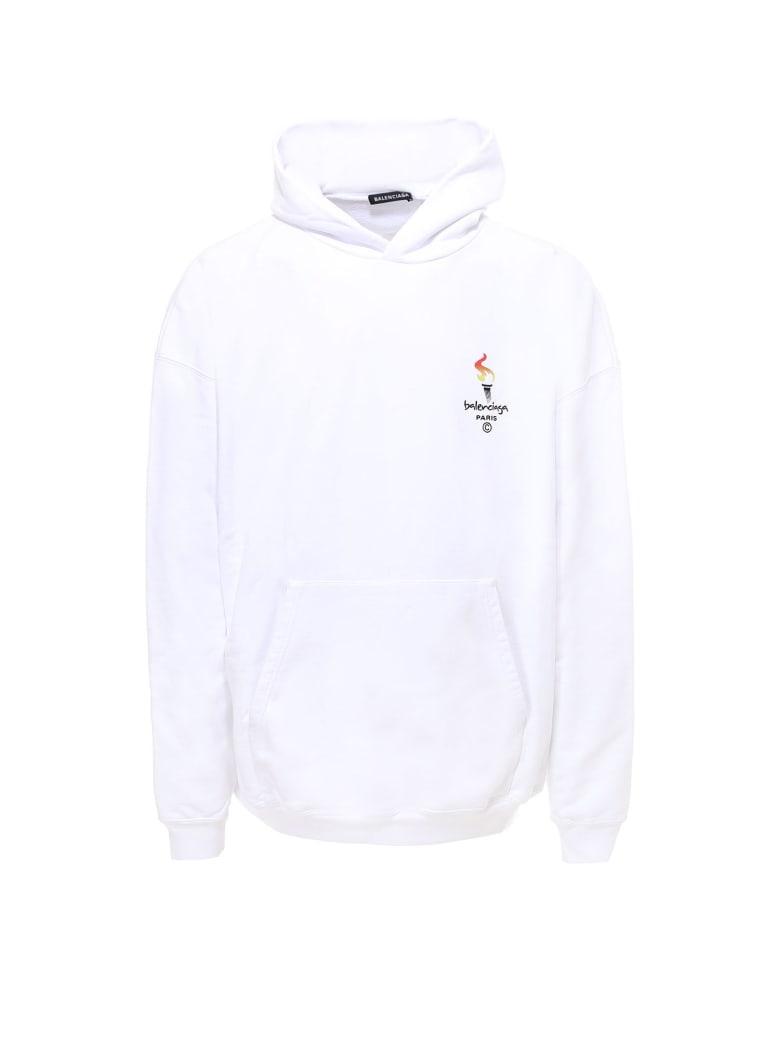 Balenciaga Sweatshirt - White