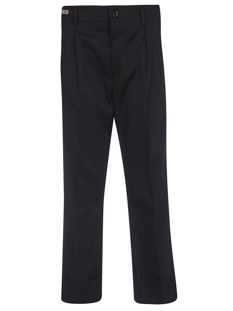 Berwich Cropped Trousers - Black
