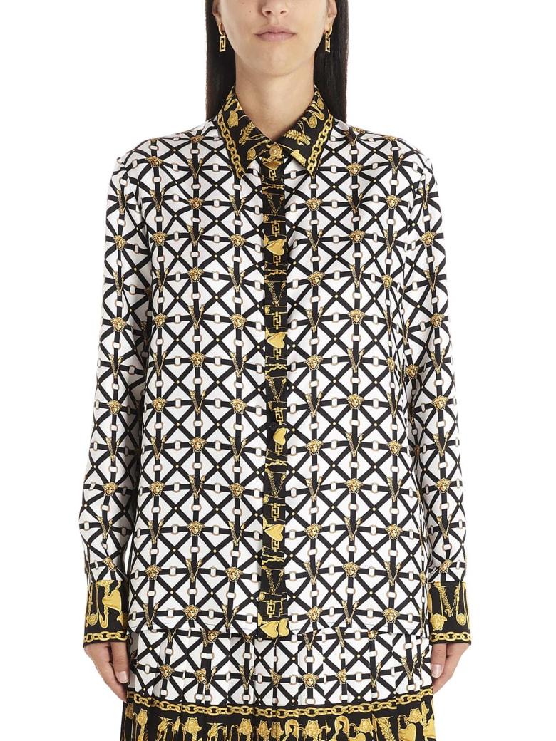 Versace 'belts E Meduse' Shirt - Multicolor