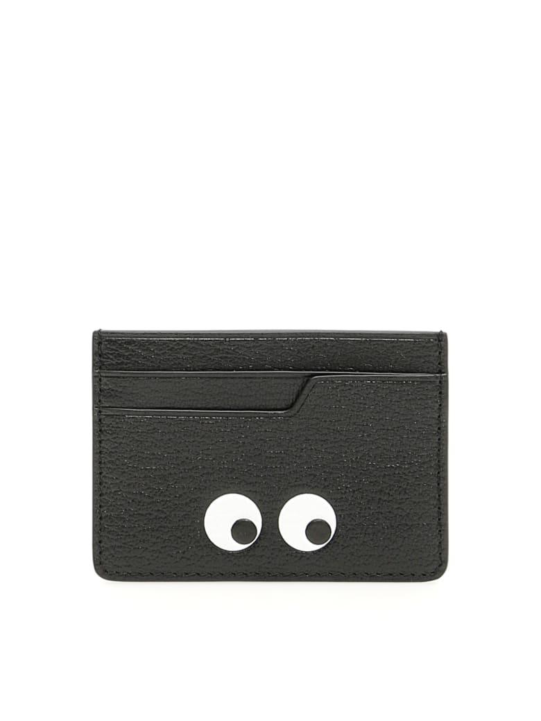 Anya Hindmarch Eyes Cardholder - BLACK (Black)