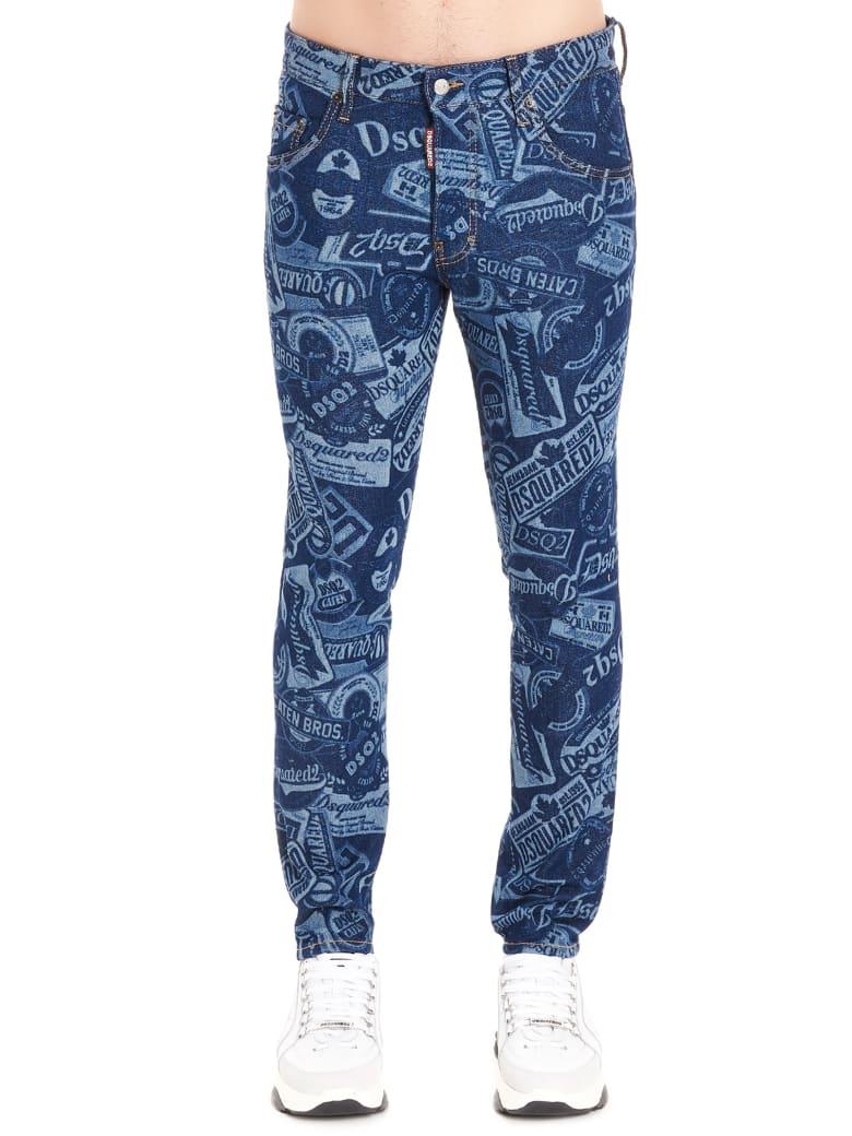 Dsquared2 'skater' Jeans - Blue