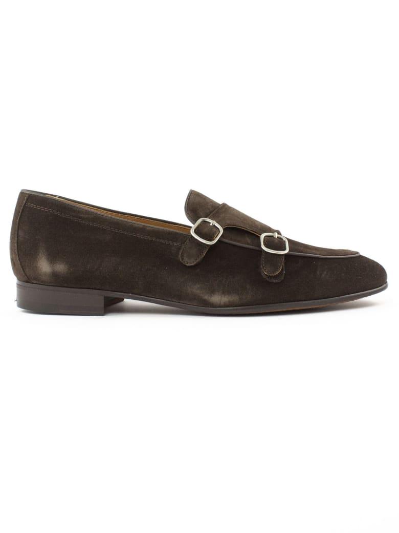 Berwick 1707 Brown Suede Loafer - Testa Di Moro