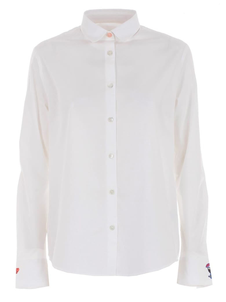 PS by Paul Smith Pointed Collar Shirt - White