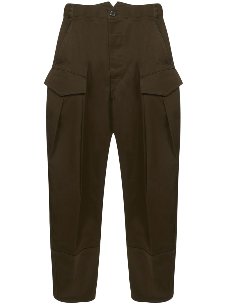 Dsquared2 Trousers - Military green