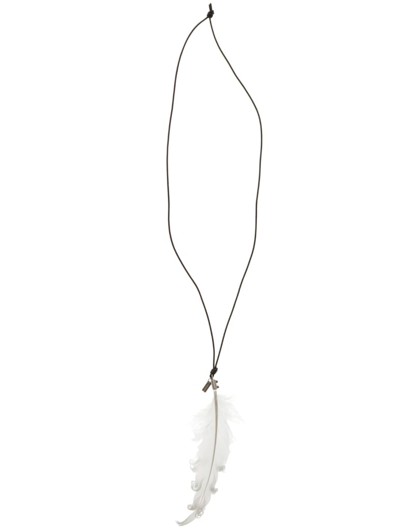 Ann Demeulemeester Necklace - White