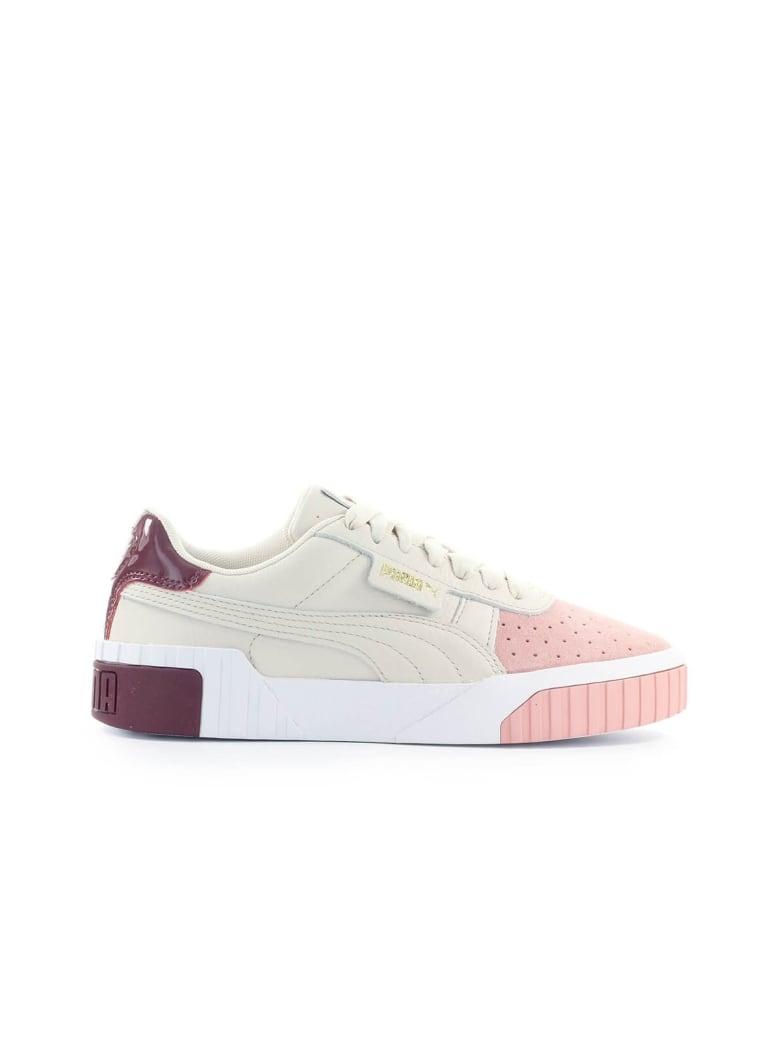 Best price on the market at italist | Puma Puma Cali Remix Pink Beige Purple Sneaker