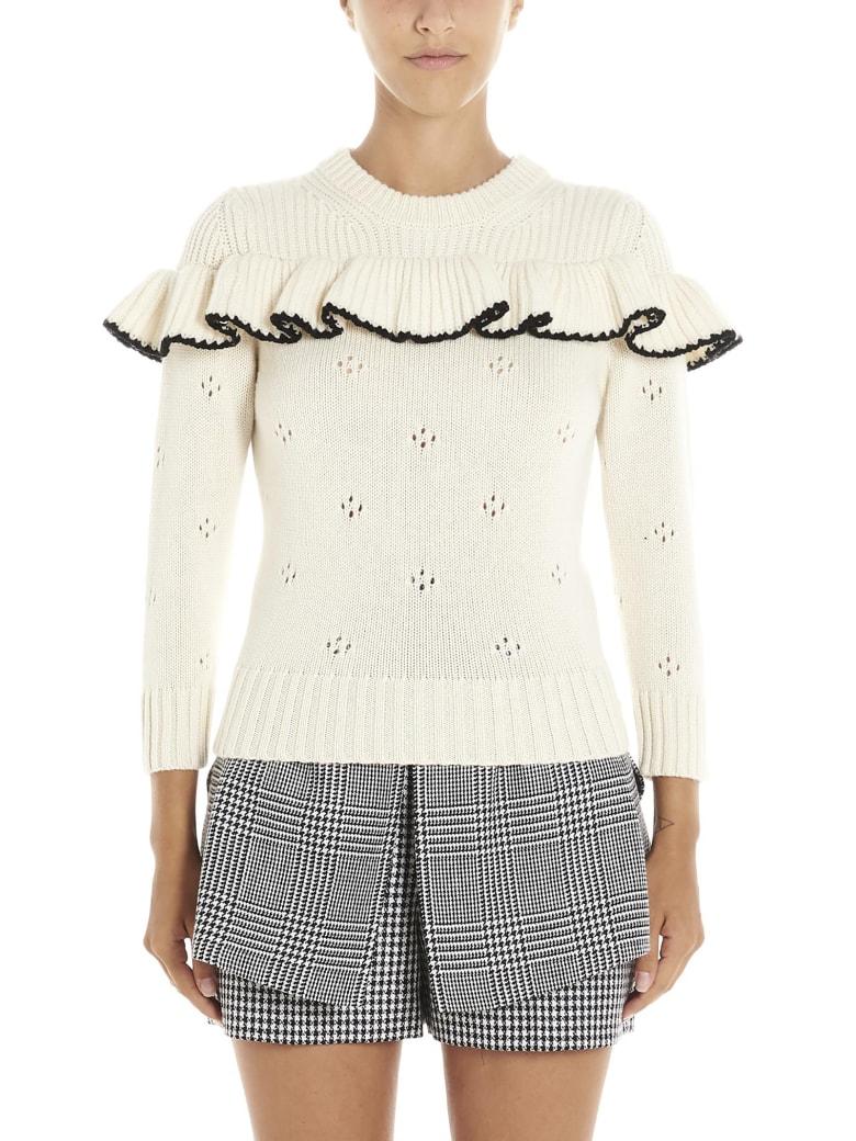 Alexander McQueen Sweater - White